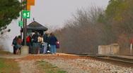 Amtrak Station Stock Footage