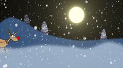 Christmas hurry - stock footage