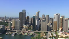 Sydney Harbour Area Stock Footage