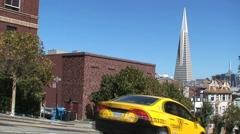 Transamerican Pyramid San Francisco Stock Footage
