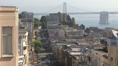 Stock Video Footage of North beach San Francisco