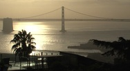 Stock Video Footage of Bay bridge in the morning San Francisco