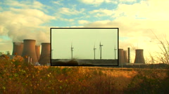 Alternative energy montage 1 - stock footage