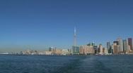 Skyline, Toronto, Canada Stock Footage