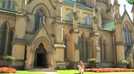 Cathedral Church of St. James, Toronto Canada Stock Footage