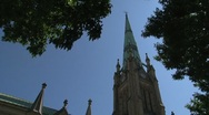 Cathedral Church of St. James, Toronto, Canada Stock Footage