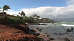 Beach Maui,Hawaii Stock Footage