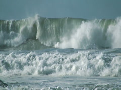 Giant Wave - stock footage