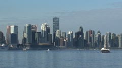 Skyline Vancouver, Canada Stock Footage
