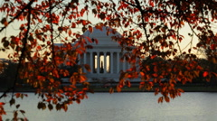 Jefferson Memorial 01 HD Stock Footage