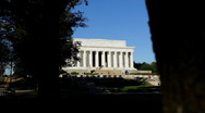 Stock Video Footage of Lincoln Memorial 03 HD