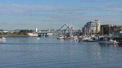 Victoria harbor, British Columbia, Canada Stock Footage