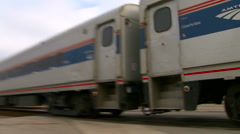 Amtrak Station Stock Footage