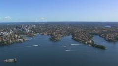 Sydney Harbour Area Stock Footage