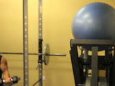 Female Portrait in Gym 1 Stock Footage