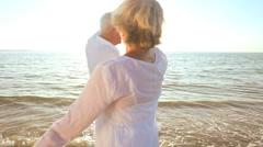 Seniors Carefree Lifestyle - stock footage