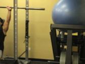 Female Portrait in Gym 3 Stock Footage