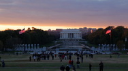 Stock Video Footage of Lincoln Memorial 05 HD
