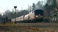 Amtrak Commuter Stock Footage