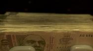Money counter machine 5 Stock Footage