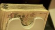 Money counter machine 6 Stock Footage