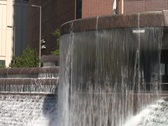 Chicagowaterwall3 Stock Footage