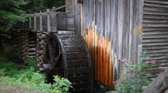 Traditional Watermill Stock Footage