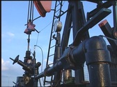 Stock Video Footage of Pump jack 01