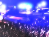 Rock Band in Concert 2 Stock Footage