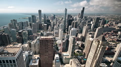 Chicago timelapse - stock footage