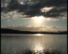 Sunset Lake - stock footage