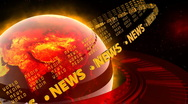 Stock Video Footage of Hot World News - News Earth 48 (HD)