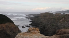 California north coast Stock Footage
