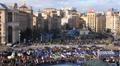 Protest meeting against Tax Codex, Maidan Nezalezhnosti, Kiev, Ukraine, November Footage