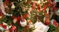 Decorated Christmas Tree HD Footage