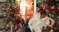 Christmas Trees and Decorations Footage