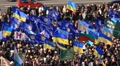 Protest meeting against Tax Codex, Maidan Nezalezhnosti, Kiev, Ukraine, November HD Footage