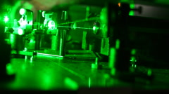 Stock video footage Scientific Research Center for Laser Technology Stock Footage