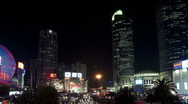 Shanghai XuJiaHui Hub Timelapse Stock Footage