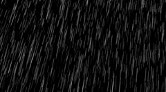 Rain- Sudden Downpour with Sound Stock Footage
