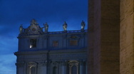 Stock Video Footage of St Peters at Christmas - different angle