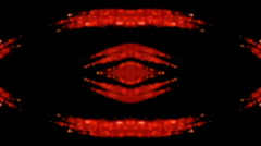 Thick red smoke shaped peculiar lava shape.melting,Pupil,watching,energy,galaxie Stock Footage