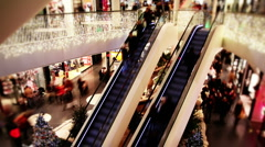 Shopping mall Stock Footage