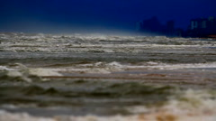 The Angry Sea Stock Footage