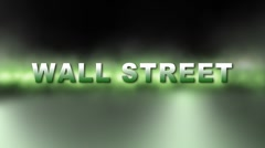 WALL STREET to MAIN STREET w Alpha Stock Footage