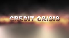 WALL STREET CREDIT CRISIS w Alpha Stock Footage