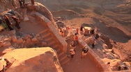 Stock Video Footage of Sunrise. Mount Sinai. Egypt