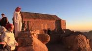 Bedouin. Mount Sinai. Egypt Stock Footage