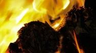 Burning Rubbish 0408 Stock Footage