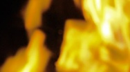 Fire Flames 0407 Stock Footage